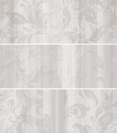 DECOR AQUA WHITE 20*60 (стена - 3 вида) 1к-1,08м(9шт)/69,12м