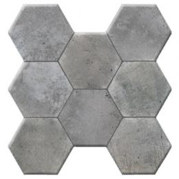 Напольная Pav. HEXAGONAL CEMENT GRIS 37.2*38.8