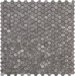 Мозаика	L241712641 Gravity Aluminium Hexagon Metal	31x31