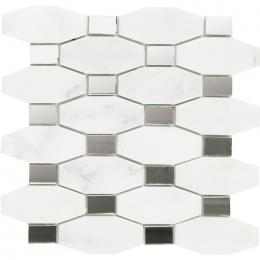 L108008751 Chain Blanco Marmara Mirror