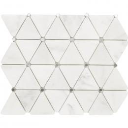 L119379011 Diamond Blanco Thassos Mirror