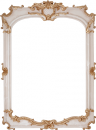 LOUVRE MIRROR BONE Decor 	115x84