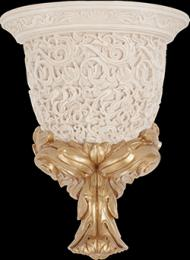 LOUVRE WALL LAMP BONE Decor 	28x35,5