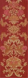 STARIY ARBAT Decor Flower Red, 25,3x70,6