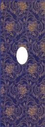 STARIY ARBAT Decor-Wentana Glam Blue 25,3x70,6