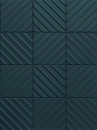 ПЛИТКА E065 4D DIAGONAL DEEP BLUE 20x20
