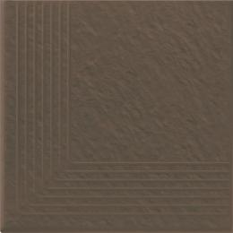 Simple Brown stopnica narozna 3-d 30x30