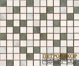PRIM03 Mosaico Royal Carrara/Verde