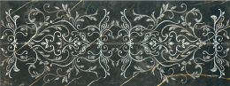 Decor 1320 Negro 48*128 Ornamental
