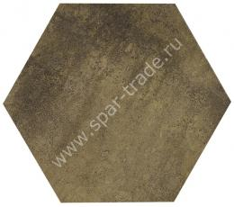 Напольная плитка Apogeo Esagona Light Brown In Tinta 19,5x19,5