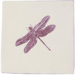 Декор Dec. Dragonfly Marron Prov.Crema 10*10