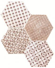Marrakech Mosaic Granate Hexagon Декор 150х150 мм/56,1