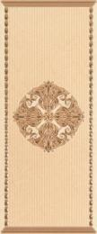 Olimpia beige decor 02 250х600 мм - 6 шт.