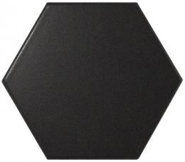Equipe Керамогранит Hexagon Scale Black Matt 11,6x10,1