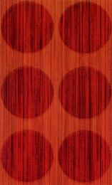 Satin Vasarely rosso		31.5*52