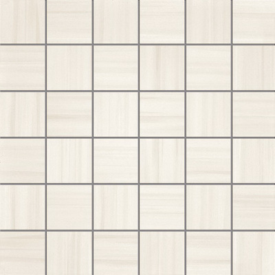 Керамическая мозаика La Fabbrica Fifth avenue Mosaico Stripes Crystal Lapp. e Rett. 30х30
