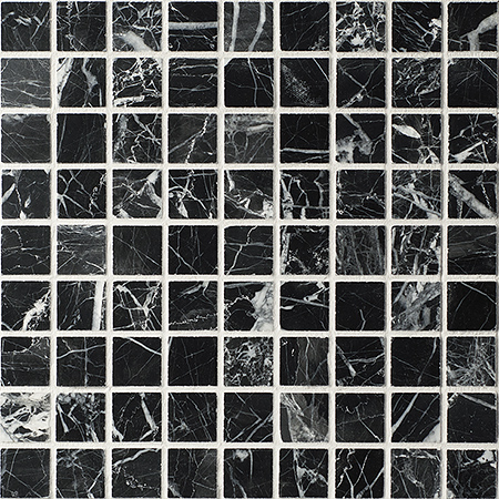 Каменная мозаика Colori Viva Natural Stone Mos.Polished Nero Oriental 30.5х30.5