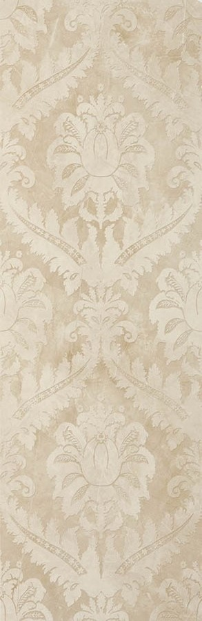 Керамические декоры Atlantic Tiles 29,5X90 BRISTOL DAMASCO IVORY